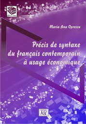 Le Precis de syntaxe du francais contemporain a usage economique