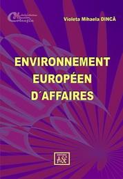 Environnement europeen d´affaires