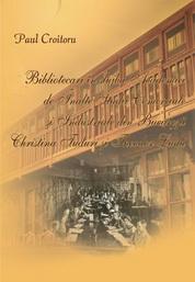 Bibliotecari in slujba Academiei de Inalte Studii Comerciale si Industriale din Bucuresti. Christina Tuduri si Theodor Ludu