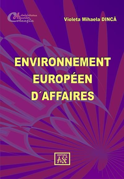 European businesss environment