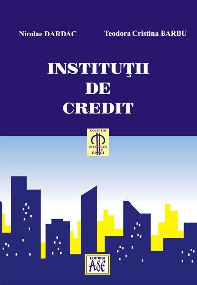 Institutii de credit