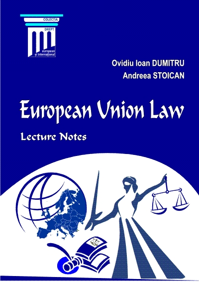 European Union Law. Lecture notes