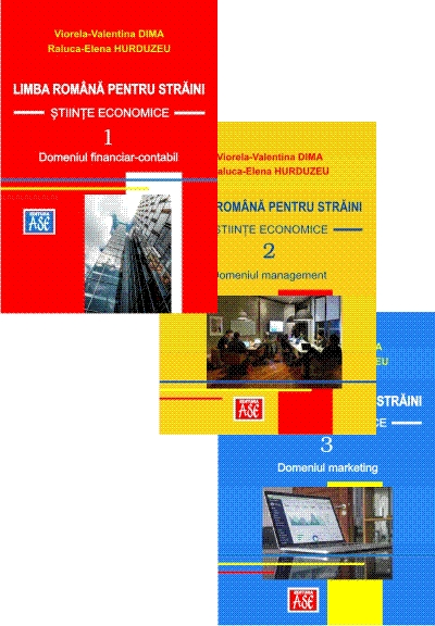 Romanian language for foreigners. Economics (three volumes)