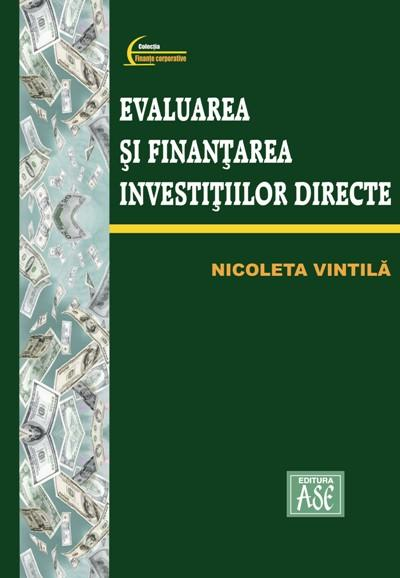 Evaluation and direct investment finance