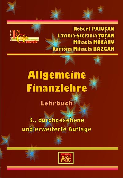 Allgemeine Finanzlehre (Finante generale)