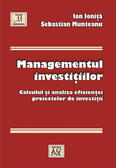 Investment management: calculation and analysis of investment projects efficiency