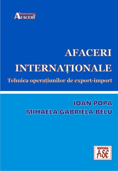 International business. The export-import operations techniques