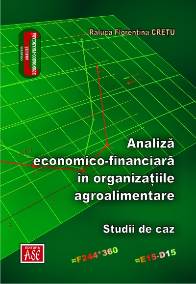 Economic and Financial Analysis in Agro-Food Organizations. Case Studies