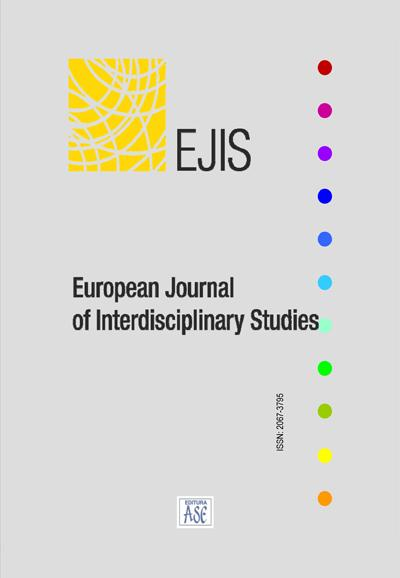 EUROPEAN JOURNAL OF INTERDISCIPLINARY STUDIES