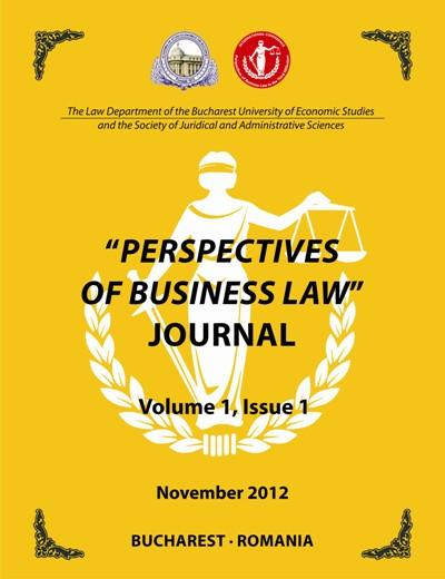 PERSPECTIVES OF BUSINESS LAW Journal