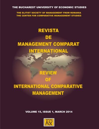 REVISTA DE MANAGEMENT COMPARAT INTERNATIONAL